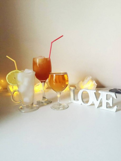 Make every hour happy this Valentine's Day with these homemade cocktails.