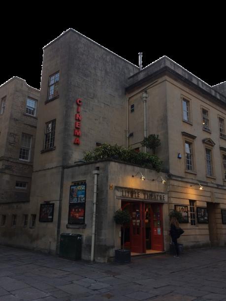 (Authors own) The Little Theatre Cinema, St Michael's Place, Bath.