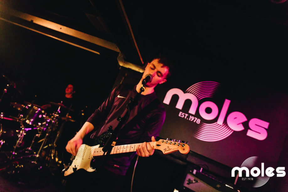 Discount Columbo at Moles nightclub in Bath