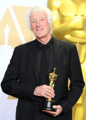 Roger Deakins, winner of the Best Cinematography (Photo by Steve Granitz/WireImage)