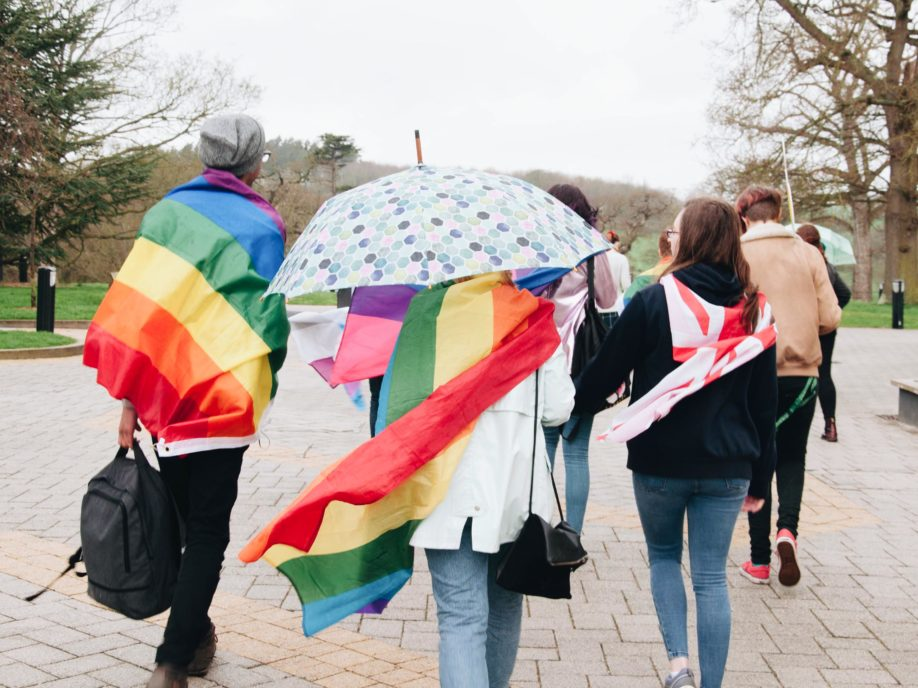 PRIDE marches on despite the wet weather