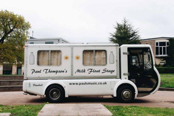 The first episode of Milk Float TV was filmed at Newton Park