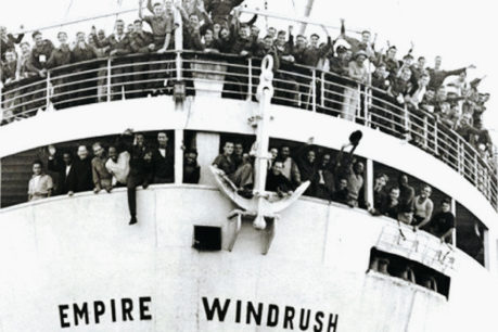 Empire Windrush ships delivering workers from British colonies